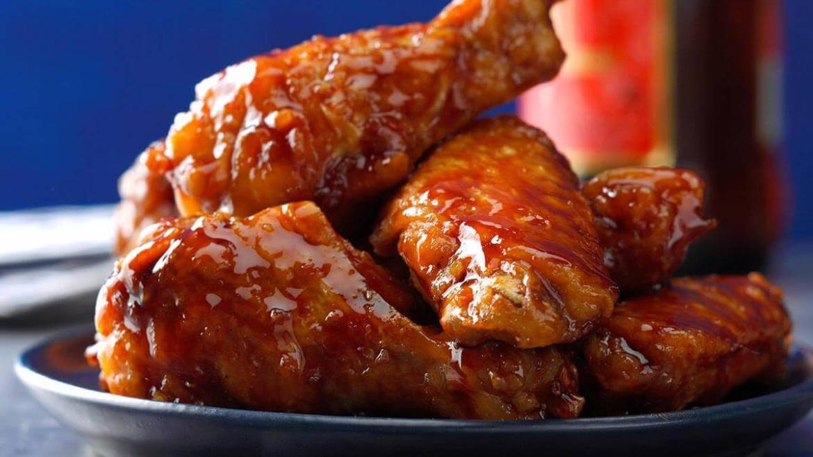 Barbecue BBQ Wings