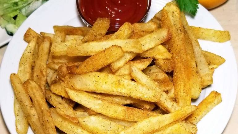 Cajun Whiting With Fries