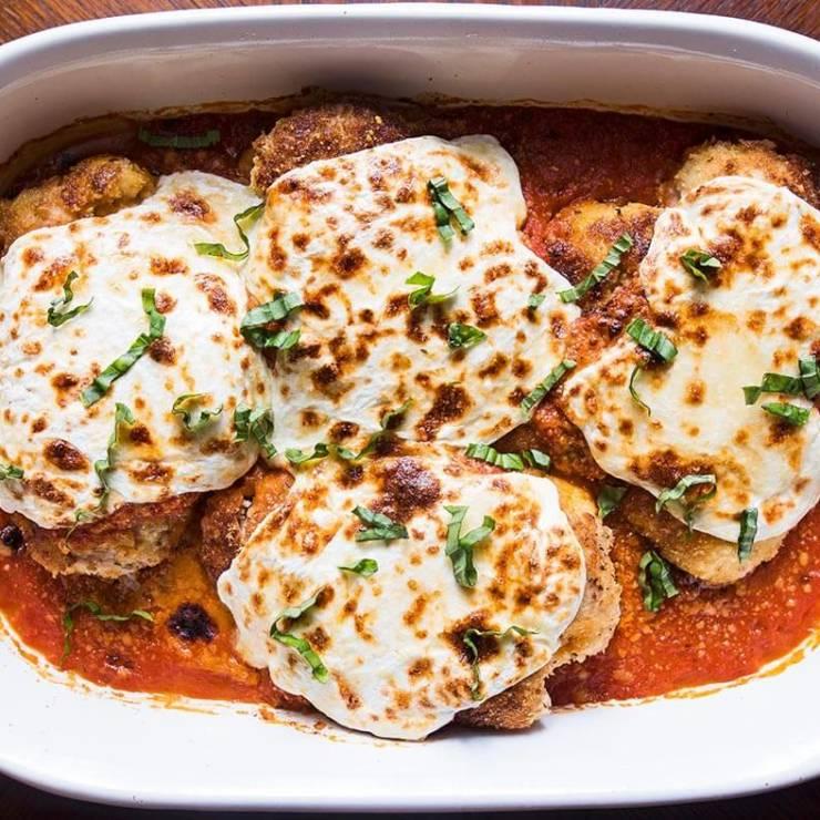 Chicken Cheese Parmesan