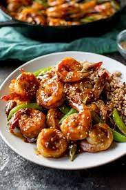 Sweet Teriyaki Shrimp